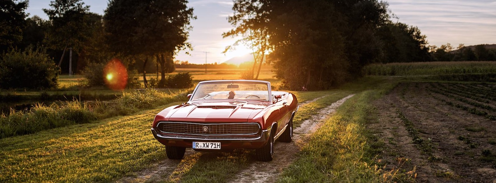 1971er Ford Torino Cabrio
